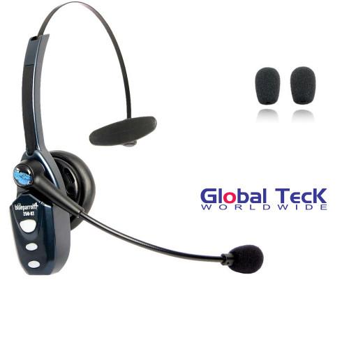 VXI BlueParrott B250-XT Bluetooth Headset w/ Extra Windscreens