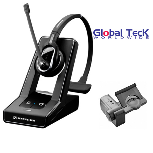 Sennheiser SD PRO1 Deskphone Cordless Headset Bundle with Remote Answering Lifter
