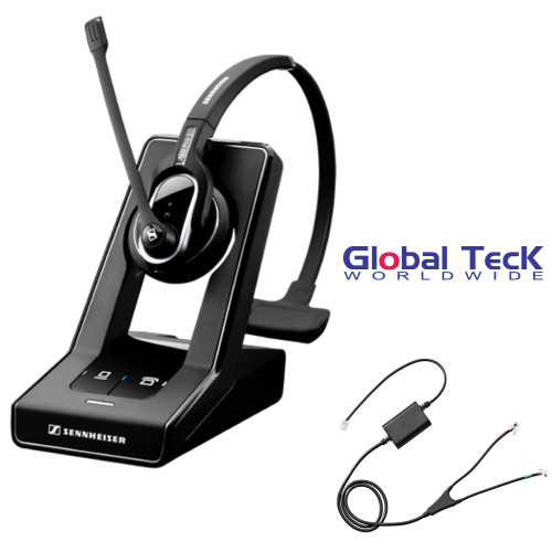 Sennheiser SD PRO1 - Deskphone Cordless Headset with Avaya Remote Answering EHS Included