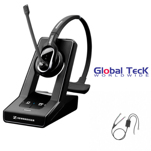 Sennheiser SD PRO1 - Deskphone Cordless Headset with Avaya EHS Adapter