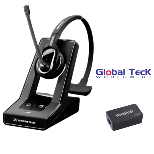 Sennheiser SD PRO1 - Deskphone Cordless Headset with Yealink EHS Adapter included