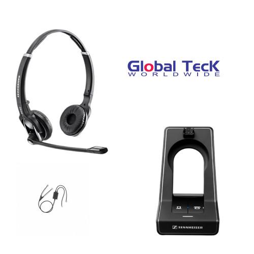 Sennheiser SD PRO2 - Deskphone cordless Headset with Avaya EHS Adapter