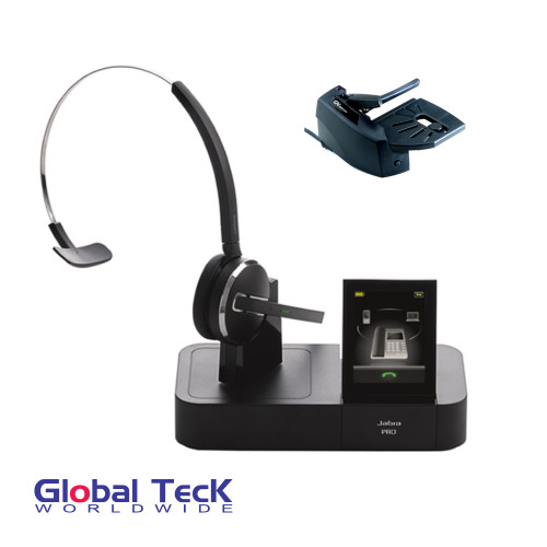 Jabra PRO 9470 Bundle with Remote Answering Lifter