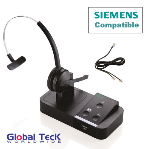 Unify - Siemens Compatible Jabra PRO 9450 Bundle with EHS Remote Answering Adapter