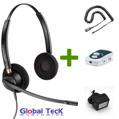 UA45 Bundle with Power Adapter and HW520 Duo Direct Connect Headset