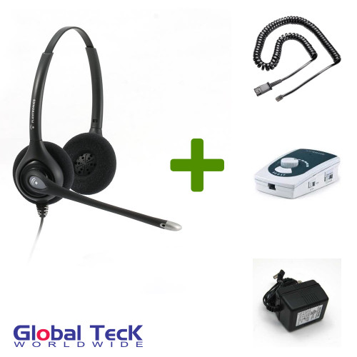 UA45 Bundle with Power Adapter and HW261N Duo Direct Connect Headset