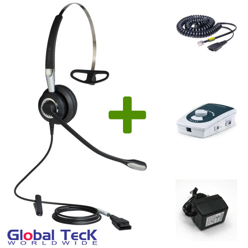 UA45 Bundle with Power Adapter and BIZ2420 Mono Direct Connect Headset
