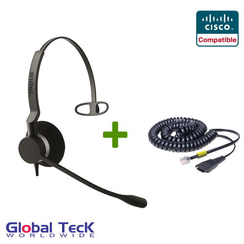Jabra BIZ 2320 Direct Connect headset For Cisco Phones