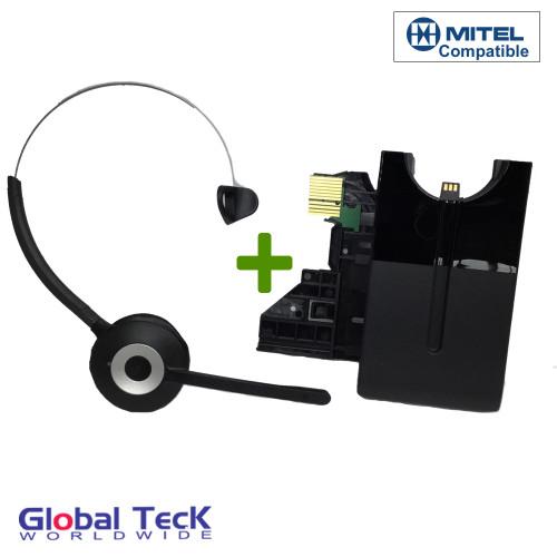Mitel Wireless DECT Headset for Mitel MiVoice Phones