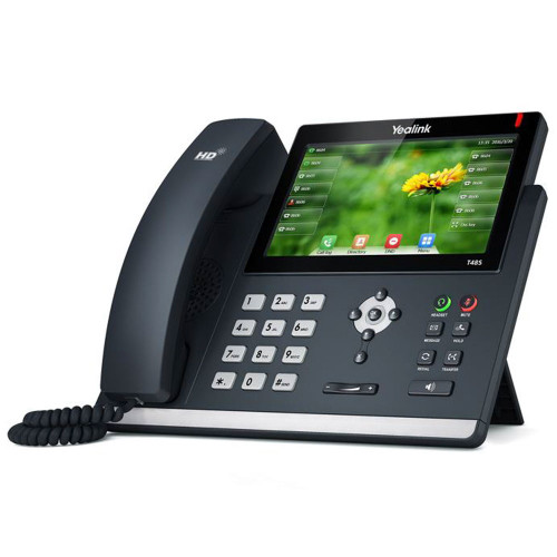 Yealink SIP-T48S 6-line IP Phone with 7 inch Color Touch Screen