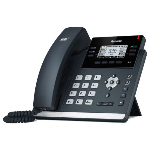 Yealink SIP-T41S IP Phone (PoE) - Without Power Supply