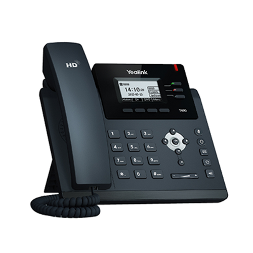 Yealink SIP-T40G IP Phone (with PoE) - Does Not Include Power Supply