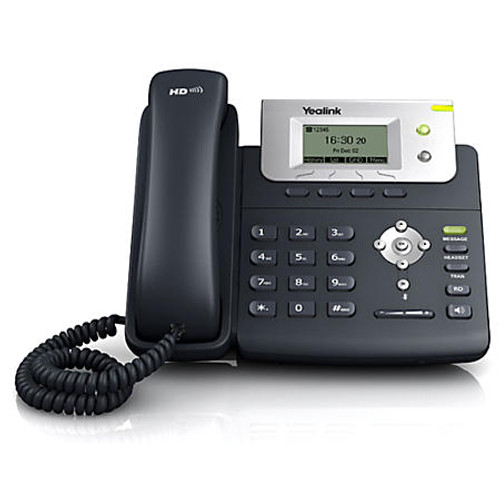Yealink SIP-T21P E2 Entry-level IP phone with 2 Lines & HD voice - Without Power Supply
