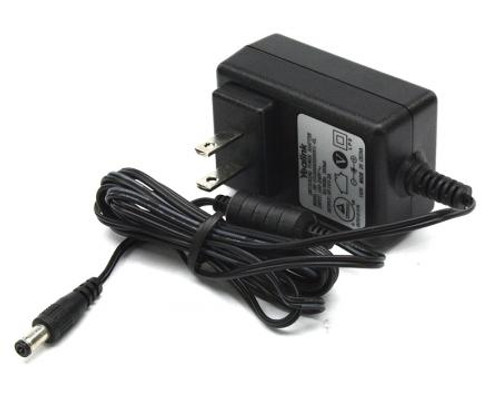 5V 2A, Yealink Power Supply for T29G/T46S/T48S /T52S/T54S/T56A/T58V/T58A, Cable: 1.8M (PS5V2000US)