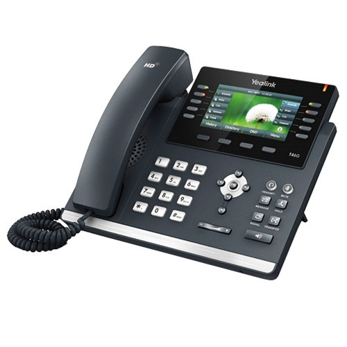 YEALINK SIP-T46G IP PHONE (POE) - WITHOUT Power Supply