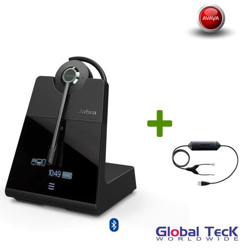 Avaya Phone Compatible Jabra Engage 75 Wireless Convertible Headset