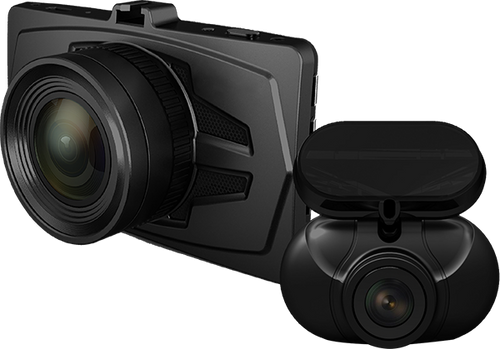 RSC Labs DUDUO | Dual-Channel Dashcam with Parking Surveillance Mode | Sony STARVIS® powered