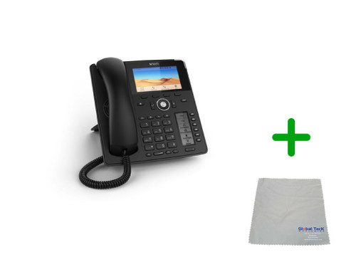 "SNOM D785 | 4.3"" Color Screen SIP Office Desk Phone 