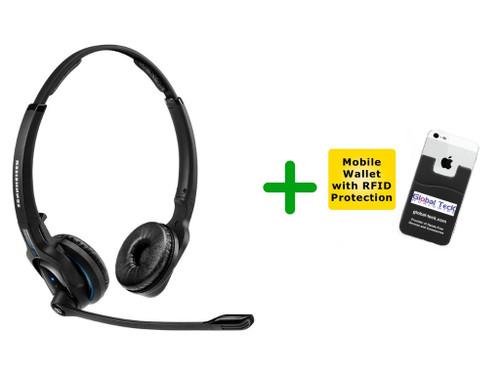 Sennheiser Bluetooth MB PRO2 Wireless Headset (SEN-MBPRO2-B)