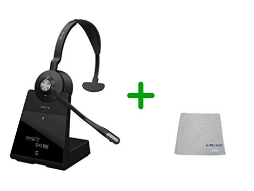 Cisco Compatible Jabra Engage 75 Wireless Mono Headset Bundle, 9556-583-125-CIS-C | for Cisco Deskphones, Bluetooth Phones, PC/MAC - Cisco Models: 7925, 7926, 8945, 9951, 9971, 8845