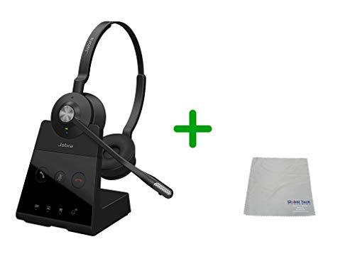 Cisco Compatible Jabra Engage 65 Wireless Duo Headset Bundle, 9559-553-125-CIS-C | For Cisco Deskphones and PC/MAC - Cisco Models: 7925, 7926, 8945, 9951, 9971, 8845, 8851, 8861, 8865, DX650, E20, EX60, EX90, Jabber, DX70, DX80