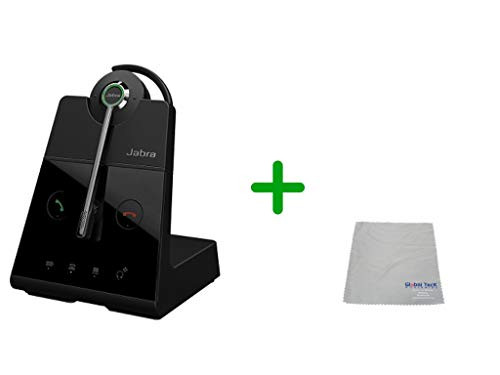 Cisco Compatible Jabra Engage 65 Wireless Convertible Headset, 9555-553-125-CIS-C | For Cisco Deskphones and PC/MAC - Cisco Models: 7925, 7926, 8945, 9951, 9971, 8845, 8851, 8861, 8865, DX650, E20, EX60, EX90, Jabber, DX70, DX80
