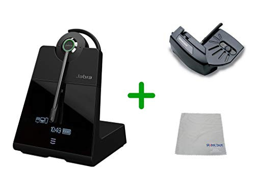 Cisco Compatible Jabra Engage 75 Wireless Headset Bundle with Lifter, 9555-583-125-CIS-B | For Cisco Deskphones, Bluetooth Phones, PC/MAC - Cisco Models:  6901, 6911, 6921, 6941, 6961, 7902, 7905, 7911, 7912, 7931, 7940G, 7941 7960, 7961 ,7970,  7970G, 7971G