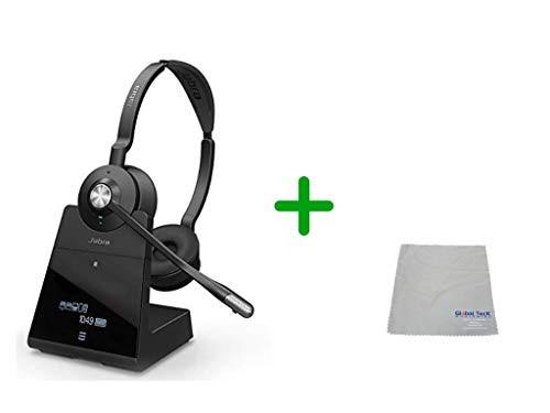 Avaya Compatible Jabra Engage 75 Wireless Headset Bundle, 9559-583-125-AVA-C | Bluetooth Phones, PC/MAC, USB, Select Avaya Desk phones, Compatible Vantage Series - K155, K165, K175 | 13-hour Battery