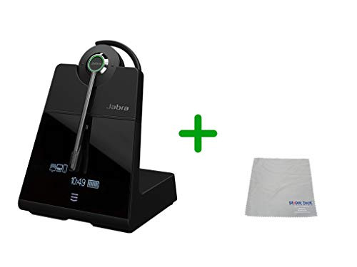 Avaya Compatible Jabra Engage 75 Wireless Headset Bundle, 9555-583-125-AVA-C | Bluetooth Phones, PC/MAC, USB, Select Avaya Desk phones, Compatible Vantage Series - K155, K165, K175 | 9-hour battery