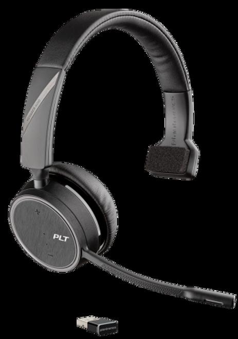 Plantronics Voyager 4210-UC Bluetooth Headset - USB-A Dongle