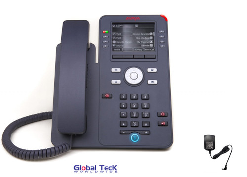 Avaya IP Phone J169 Bundlle with Power Supply | HD Audio Quality | Gigabit Ethernet Interface | 700513636