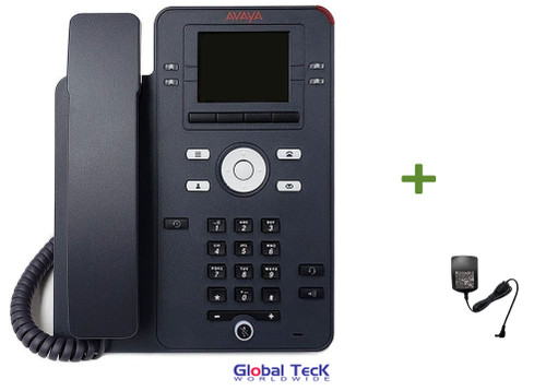 Avaya IP Phone J139 Bundle with Power Supply | HD Audio Quality | Gigabit Ethernet Interface | 700513917