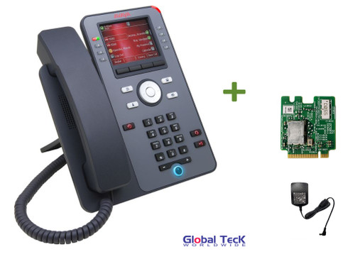 Avaya IP Phone J179 Bundle with Power Supply and Wireless Module| Color Display | HD Audio Quality | 700513630