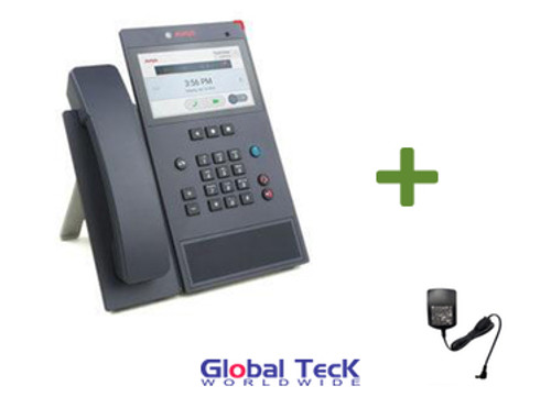 Avaya Vantage IP Phone K155 Bundle with Power Supply | HD Audio Quality | Integrated Camera | 700513907