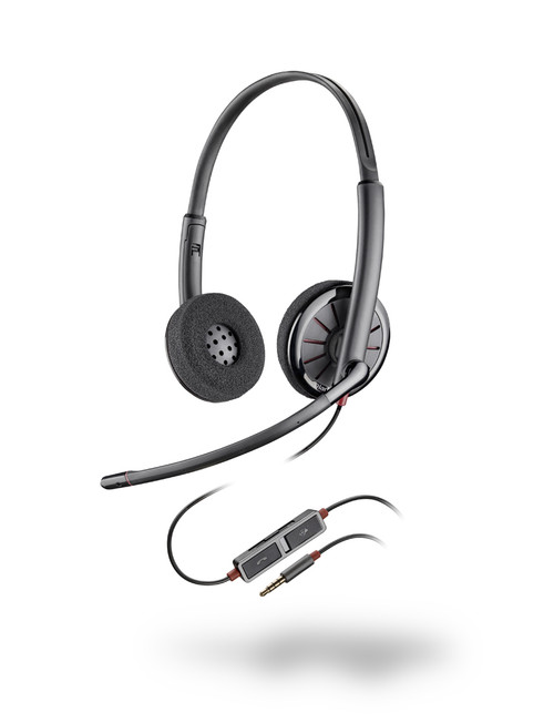 Plantronics Blackwire C225 3.5mm Headset   205204-12
