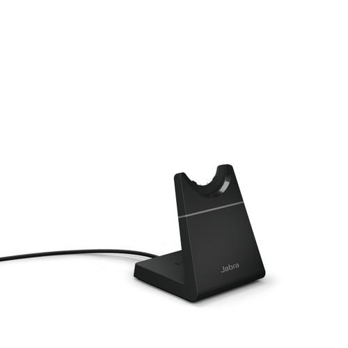 Jabra Evolve2 65 USB-C Deskstand (Black Color) | Compatible with Jabra Evolve2 65 MS USB-C Mono, 65 MS USB-C Stereo, 65 UC USB-C Mono, 65 UC USB-C Stereo | 14207-63
