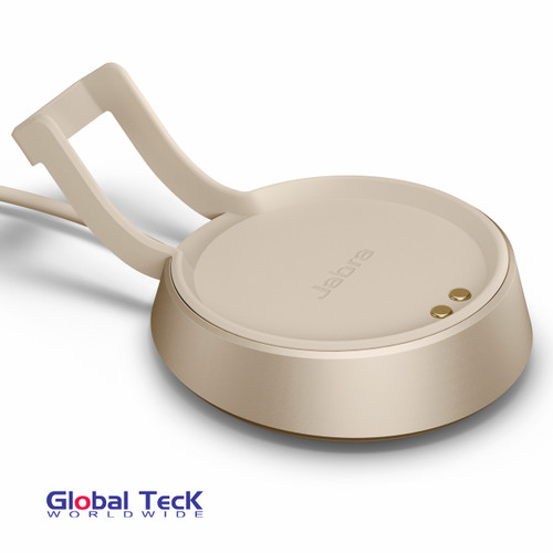 Jabra Evolve2 85 USB-A Deskstand (Beige Color) | Compatible with Jabra Evolve2 85 MS USB-A Stereo and 85 UC USB-A Stereo | 14207-67