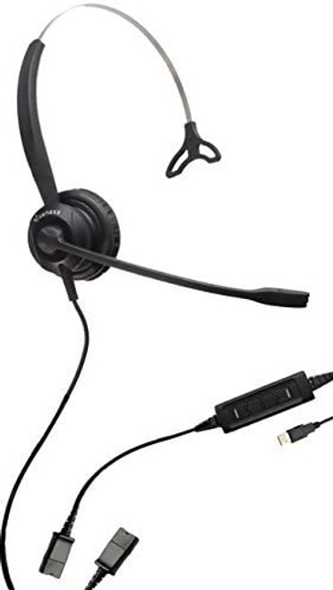 Computer USB Headset with Quick Disconnect