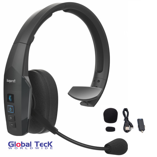 BlueParrott B450-XT Bluetooth Headset - Water, Dust proof - IP54 Rated - Cushion Kit and Priority Tech Support Plan Included   NFC enabled #204270