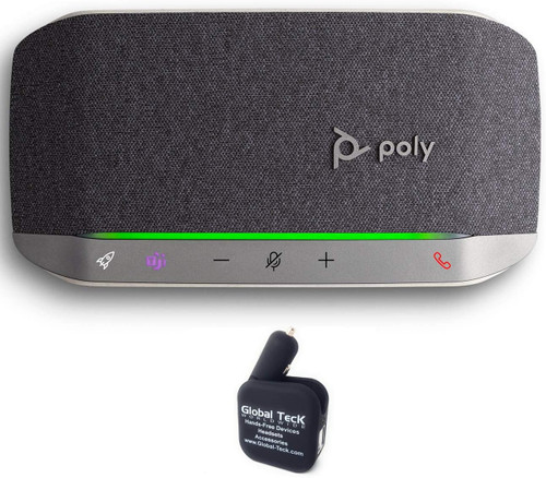 Poly SYNC 20 USB-C Speakerphone with dongle and Bonus Charger