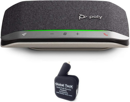 Poly SYNC 20 USB-A Speakerphone with dongle and Bonus Charger