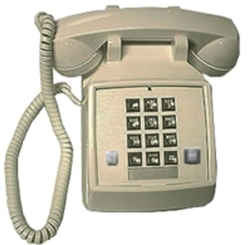 2500 VBA 27F (Ash) Basic Analog Desk Phone w/Message & Flash