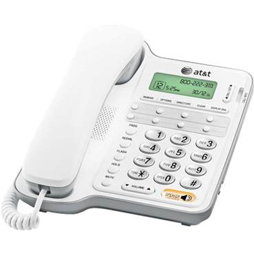 AT&T 2909 Basic Analog Desk Phone with Speakerphone