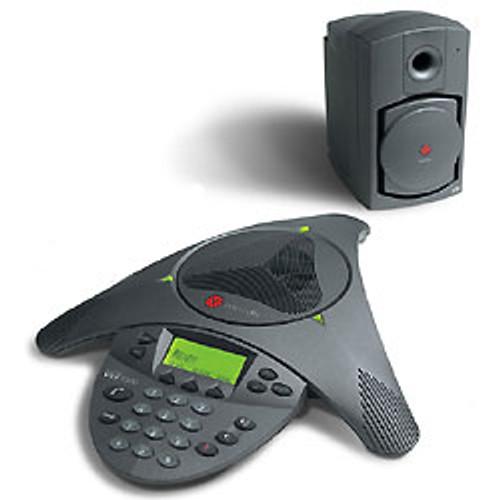 Polycom SoundStation VTX 1000 w/subwoofer
