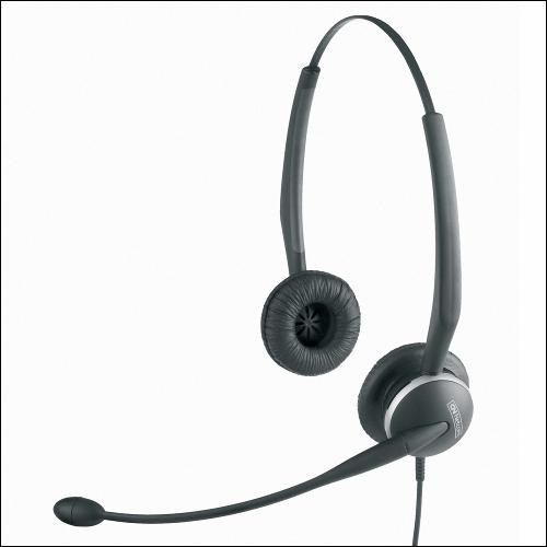 Jabra GN2125 NCTC Headset with Telecoil mode for hearing aid users, 2127-80-54