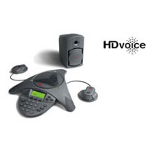 Polycom SoundStation VTX 1000 Conference Phone w/ Mics & Subs