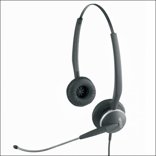 Jabra GN2115ST Sound Tube Headset, 01-0245 |  Use with Cisco, Polycom, Mitel, Nortel, Yealink, Toshiba, NEC (Requires Adapter)