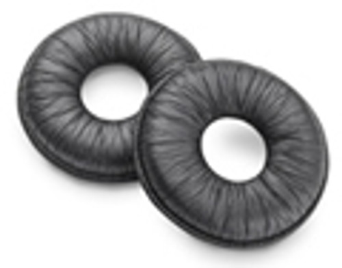 Plantronics Leatherette Earcushion Replacement, Supra Headsets (67712-01), 2pack