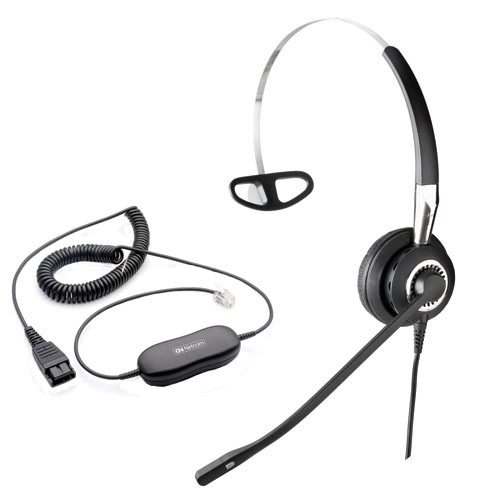 Headset with Smart Cord
