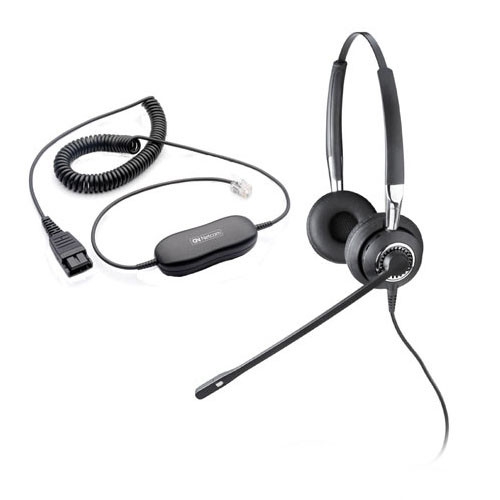 Jabra BIZ 2415 Duo Direct Connect headset with smart cord